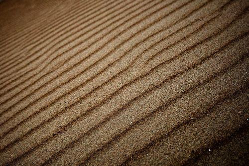 Zand ribbels van