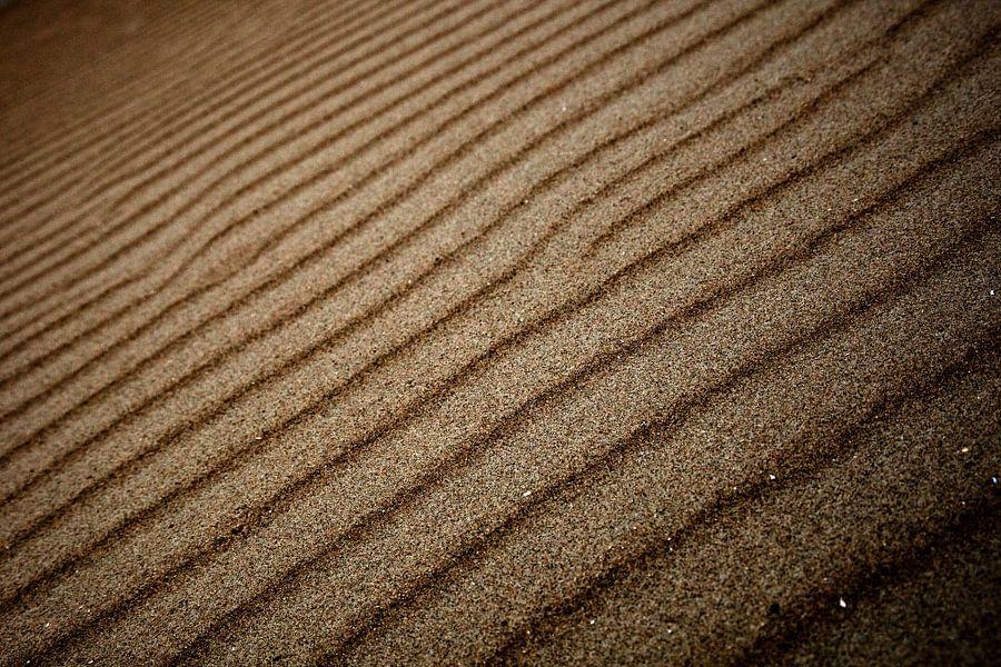 Zand ribbels van Martijn Smit