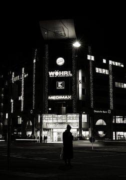 Magdeburg bei Nacht von Heiko Kueverling