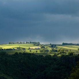Uitzicht op de Cantal van Berend Doornenbal