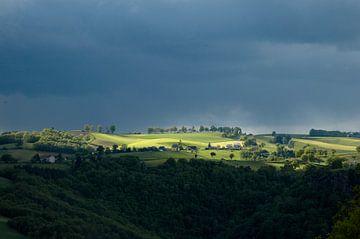 Uitzicht op de Cantal von Berend Doornenbal