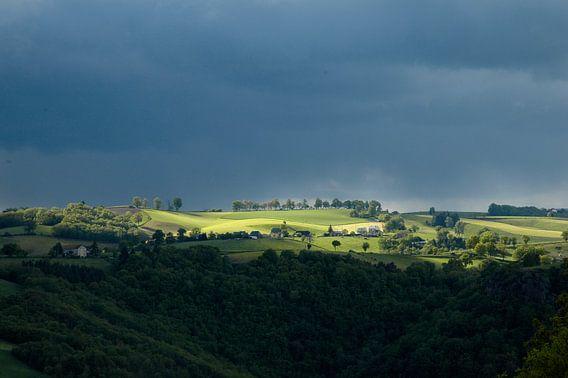 Uitzicht op de Cantal
