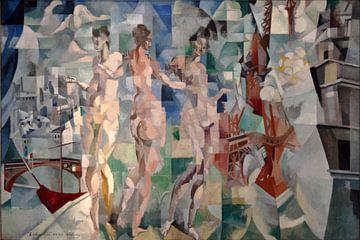 Robert Delaunay, Weiblicher Akt, 1912 von Atelier Liesjes