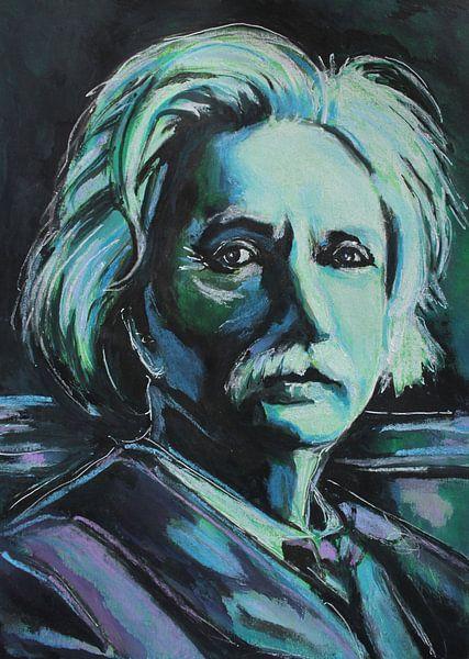 Edvard-Grippe von Helia Tayebi Art