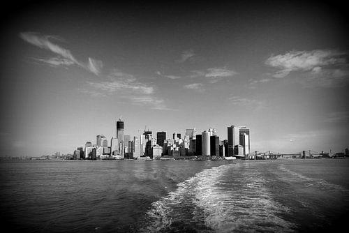 Skyline Manhattan New York von Bo Wijnakker