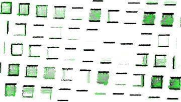 Vensters in groenachtige tinten van Ready Or Not