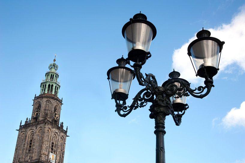 Martinitoren in Groningen van Franke de Jong