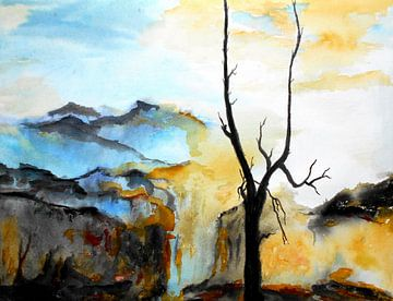Landscape van Eberhard Schmidt-Dranske