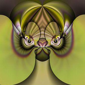 Phantasievolle abstrakte Twirl-Illustration 83/15
