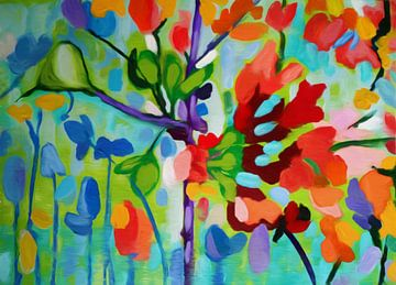 Kleuren van de natuur van Angel Estevez