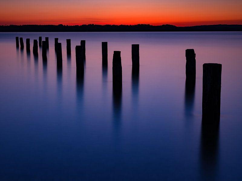 Abendstimmung am Starnberger See von Andreas Müller