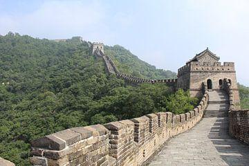 Chinese muur - China von Martin van den Berg Mandy Steehouwer