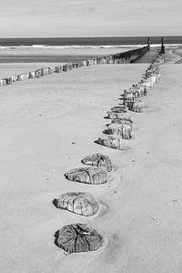 Plage de sable sur Peter Leenen