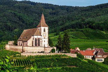 Kirche in den Weinbergen von Jürgen Wiesler