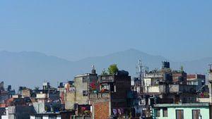 'Opgestapeld', Kathmandu- Nepal