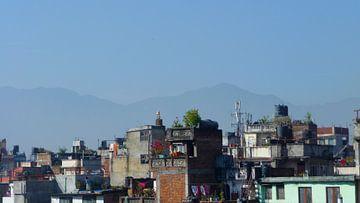 'Opgestapeld', Kathmandu- Nepal  van Martine Joanne