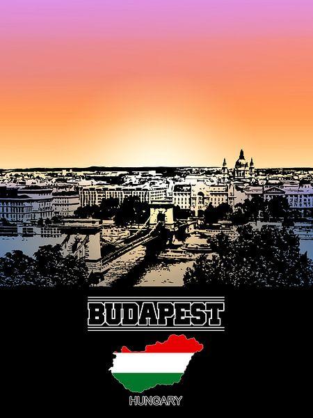 Boedapest van Printed Artings