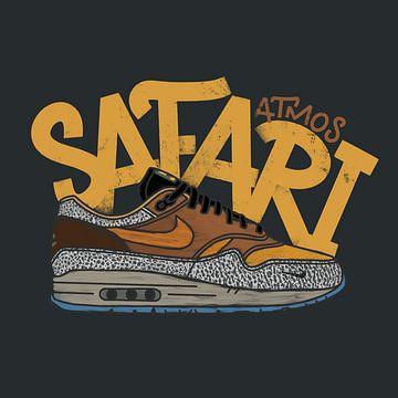 """Nike Air Max 1 """"Atmos Safari"""" von Pim Haring"""