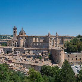 La belle ville médiévale d'Urbino sur Patrick Verhoef