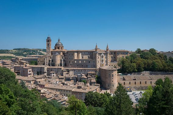 Het wonderschone middeleeuwse Urbino