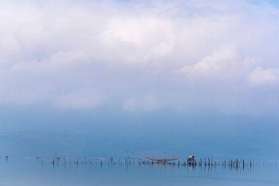 Visnetten in de nevel, Vietnam
