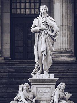 Friedrich Schiller (Berlin - Gendarmenmarkt) von Alexander Voss