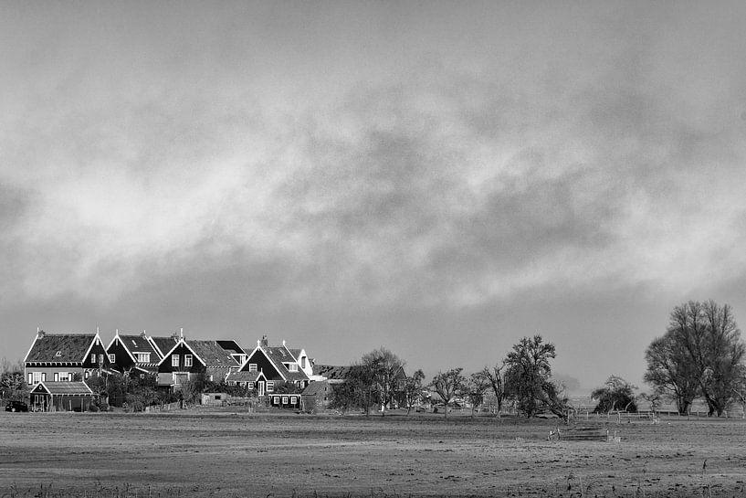 Hollands Landschap van Ton de Koning