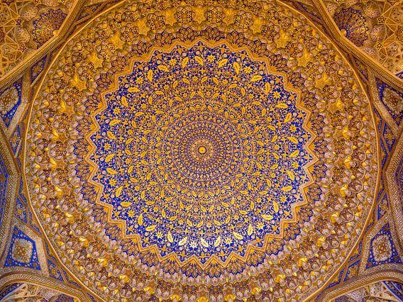 Plafond doré Tilya-Kori Madrasah (4:3)