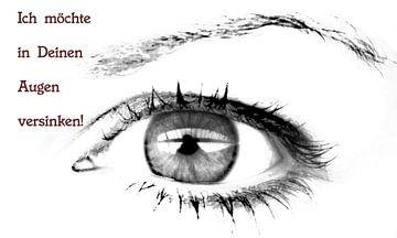 Ich möchte in Deinen Augen versinken. von Norbert Sülzner