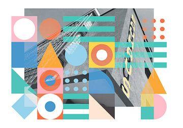 Geometrische Formen Bauhaus Schule Dessau von Raymond Wijngaard