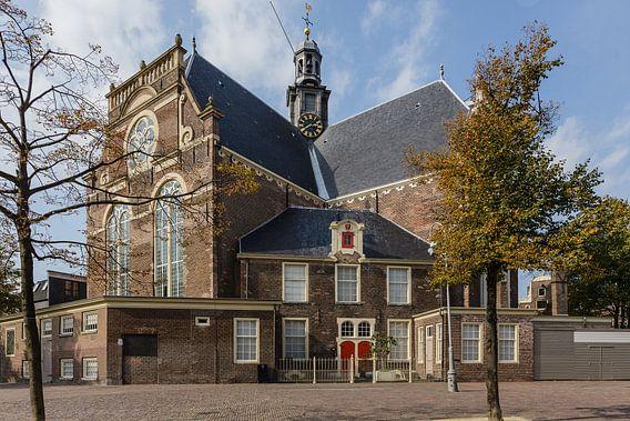 Noorderkerk zonder markt, Amsterdam, Netherlands