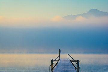 Nebel am Chiemsee von Martin Wasilewski