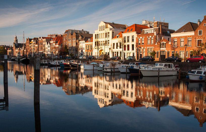Delfshaven Rotterdam van Ilya Korzelius