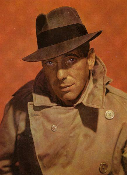 Humphrey Bogart Portrait von Bridgeman Images