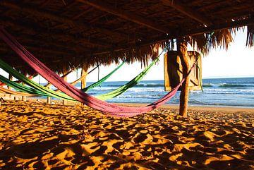 Hängematten am Strand von Patrick Hundt