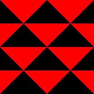 schwarz und rot sur
