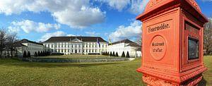 Schloss Bellevue Berlijn met historisch brandalarm
