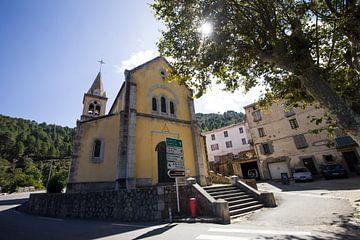 Dorp in Corsica, Frankrijk sur Rosanne Langenberg