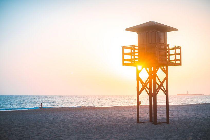 Costa de la Luz zonsondergang 2 van Andy Troy