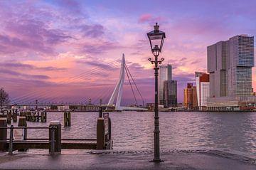 Rotterdam Skyline van Rene Ladenius