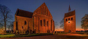 Die Kirche von Garmerwolde, Groningen, Niederlande