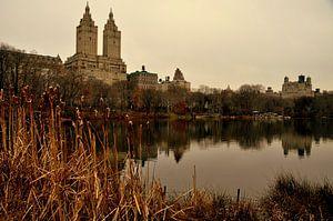 Zicht op the San Remo vanuit Central Park New York van Bianca Dekkers-van Uden