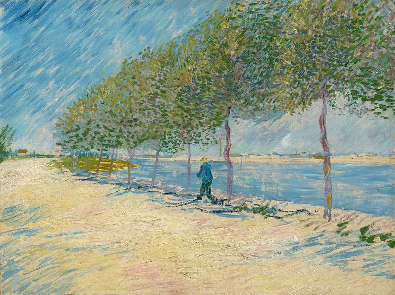 Vincent van Gogh, Langs de Seine van 1000 Schilderijen