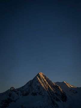 Alpenglow In Austria sur