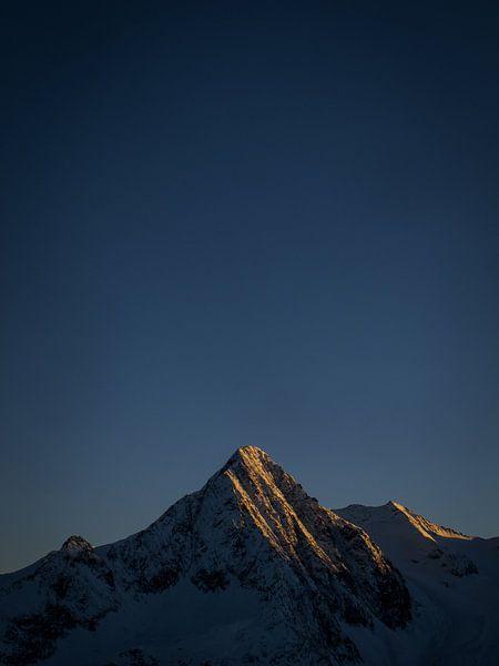 Alpenglow In Oostenrijk