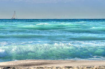 seascape  -  italy van Peter Bergmann