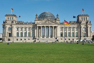 Berlijnse Rijksdag van Burghard Schreyer
