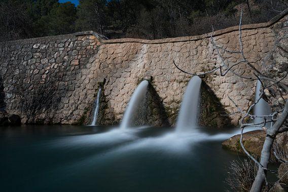La Cuenca Alta in de Rio Turon, Spanje