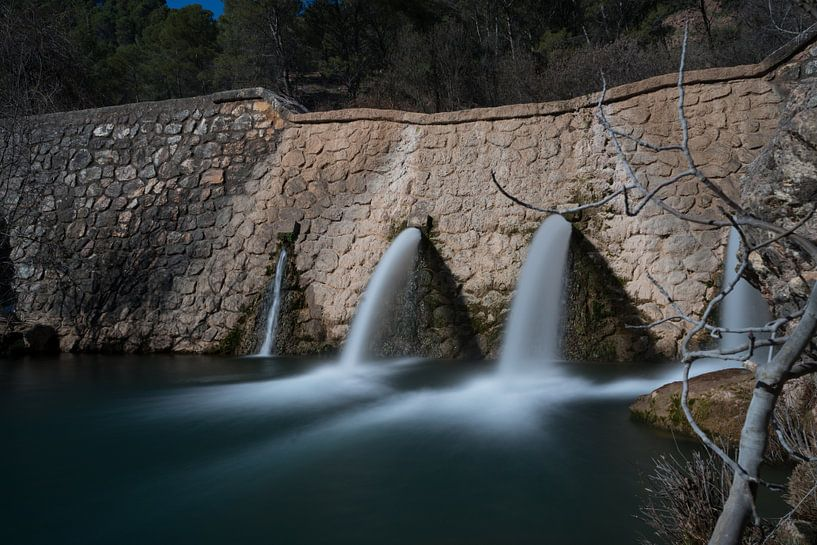 La Cuenca Alta in de Rio Turon, Spanje van Charlotte Serrarens