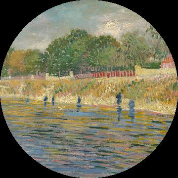 Vincent van Gogh, Oever van de Seine